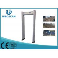 Quality Oval Door Panel Walk Through Metal Detector Waterproof UM600 With Small LCD Screen wholesale