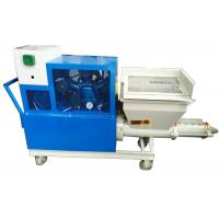 China Spray Evenly Mortar Plastering Machine Strong Adhesion Low Failure Rate on sale