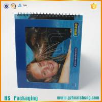 China Factory Custom made hard cover book with spiral binding on sale