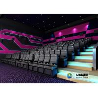 Quality Exciting 4D Movie Theater With Circular Screen , 4D Theater System wholesale