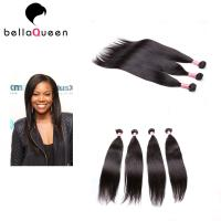 China Straight Weave Double Drawn Weft Original Virgin European Hair Extensions on sale