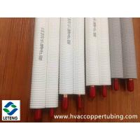Quality Plastic Coated Copper Tubing , Thermal  Insulation Air Conditioner Refrigeration Copper Tubing wholesale