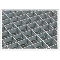 Quality Floor Pressure Locked Steel Grating Metal Grid Hot Galvanized Anti - Sliding wholesale