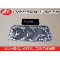 Quality Recyclable Aluminium Foil Takeaway Food Containers A046 With ISO Certification wholesale