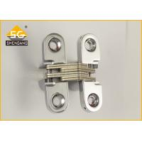 China Finishing Surface 180 Degree Cabinet Folding Door Hardware Hidden Hinges on sale