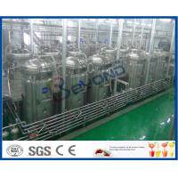 Quality Soft Beverage Industry Cool Drinks Making Machine 5000 - 6000BPH ISO9001 / CE / SGS wholesale