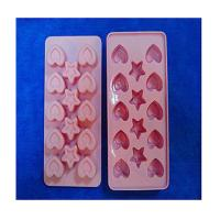Quality heart shape silicone ice tray mold ,custom silicone tray molds wholesale