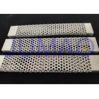 China Rectangular Tube Wire Mesh Filter Smooth Alkali Resistance For Chemical / Food on sale