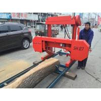 Buy cheap SH27 Portable Wood Cutting Band Sawmill band saw machine,portable band saw,horizontal band sawmill from wholesalers