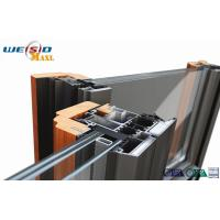 Buy cheap Windows Aluminium Extruded Profile 12 Micro Anodizing Thickness from wholesalers