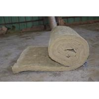 Quality Residential Rockwool Insulation Blanket With Wire Mesh / Fiberglass Cloth wholesale