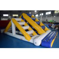 Quality Commercial Inflatable Ladder With 0.9mm PVC Tarpaulin For Water Sport Games wholesale