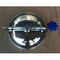 Cheap Good Quality Sanitary Stainless Steel Manhole Cover SS316L Sanitary Manhole for sale