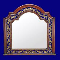 Quality 4046 Hot Sale Wooden Look Classic Mirror Frame wholesale