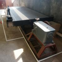 China Gold mining equipment gold Shaking Table for gold ore recovery on sale