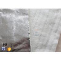 Quality Aluminium Foil Fiberglass Needle Mat E Glass Heat Insulation Blanket 25MM 800℃ wholesale