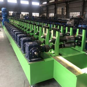 China 10m/Min 1.5mm Galvanized Floor Deck Roll Forming Machine CR12 Blade on sale