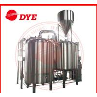 Quality 500 Gal Steam All Grain Home Brewing Equipment With Whirlpool Tank wholesale