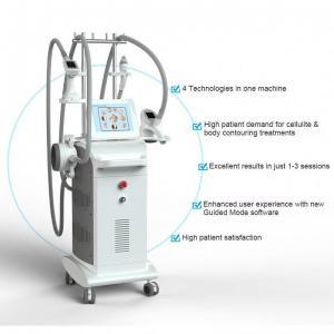 Quality 940nm Laser Wavelength Fat Removal Machine Rf Cavitation Machine Vertical Type wholesale