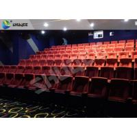 Cheap Professional Imax Movie Theater 4D Sound Vibration Cinema With 100 Seats for sale