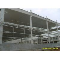 Cheap Durable Steel Structure Warehouse Portal Structure Frame With Long Overhang for sale
