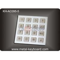Quality 4 X 4 Matrix Door Access Keypad with Rugged Stainless Steel Material wholesale