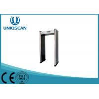 Quality Security Door Frame Metal Detector Gate 6 Zones For Government Office wholesale