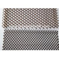 Quality Aluminum Wire Mesh Curtain, Woven Wire Drapery,Chain Link Curtain wholesale