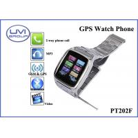 Quality PT202F Fashionable Real Time Wireless GPS Wrist Watch Tracker with 1.3MP Camera + Bluetooth + FM+ MP3 wholesale