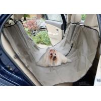 Quality Adjustable Pet Car Seat Covers Waterproof Simple Install OEM / ODM Acceptable wholesale