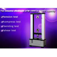 Quality Computer Control Electronic Universal Testing Machine 10KN Two Columns wholesale