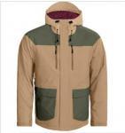 Quality Custom Design Fashion men hooded padded skiing jackets wholesale