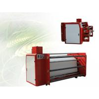 China Roll To Roll Sublimation Heat Press Machine For Cloths Printer Automatic Control on sale