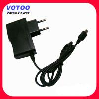 Quality Micro USB AC DC Power Adapter 5v 1500ma , Digital Camera Power Adapter wholesale