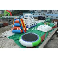 Buy cheap Funny Inflatable Rrampoline Amazing PVC Inflatable Water Parks For Kids and from wholesalers