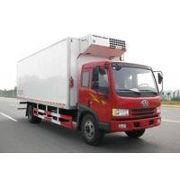 Quality FAW Dongfeng 4X2 Refrigerated Box Truck 5 Tons Fast Food Cooling Truck wholesale