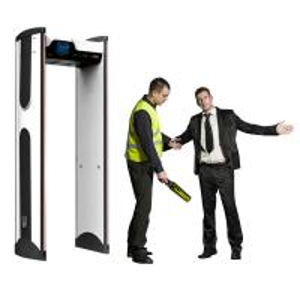 Quality Waterpoof archway metal detector door / prison metal detectors at school wholesale