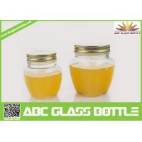 Quality Wholesale customized glass jar for jam with lid wholesale