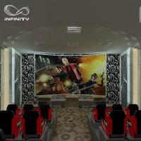 Quality 8 9 12 Seats 5D 7D Virtual Reality Cinema Hydraulic Theater Equipment wholesale