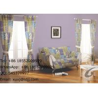 Household window panel curtains and sofa cover mixed rhombus for sale