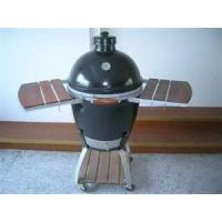 Quality Environmentally 535mm * 760mm Oval Ceramic Big Green Egg Oven, Charcoal bbq Grills wholesale