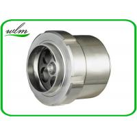 Quality Food Grade Sanitary Butt Weld Check Valve Scientific Connection Design For Industrial wholesale