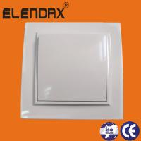 Buy cheap Elendax Electrical White ABS Flush wall mounted switch from wholesalers