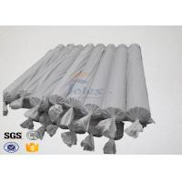 Cheap Oil Pipeline Insulation Silicone Coated Fiberglass Fabric Material 0.4 MM Thickness for sale
