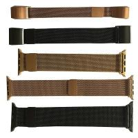 Quality metal injection moding(MIM) stainless steel  woman& man watchband with PVD surfacetreatmen wholesale