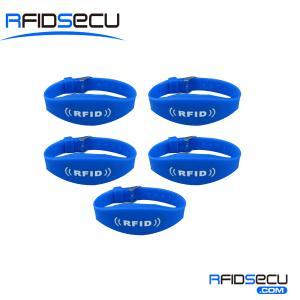 China Dual band UHF RFID Wristband Tag (UHF+HF) on sale