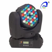 Quality Tri - Color DMX 512 LED Wash Moving Head Lamp , Indoor Beam Led Stage Wash Lights wholesale