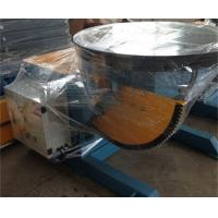 Quality Welding Rotary Positioner 2 T Pipe Welding Positioners 120° Tilting Angle CE wholesale