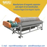 Quality Mining / Ore Dressing Wet Magnetic Drum Separator 3.5KW One Year Guarantee wholesale