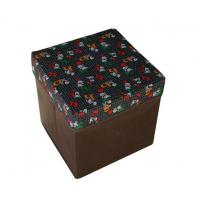 Quality Middle size square hexagon foldable oxford fabric storage box bag easy for carrying wholesale
